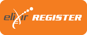 ELIXIR Register button
