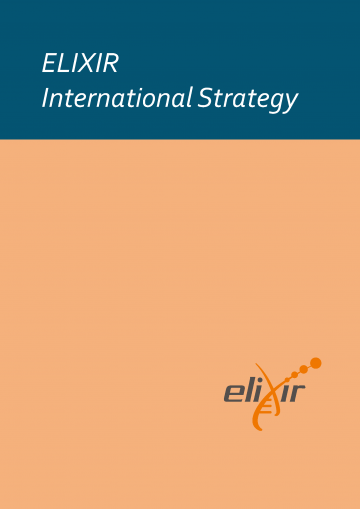 Cover page of the ELIXIR International Strategy