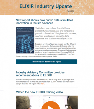 Industry newsletter