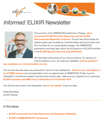 Informed newsletter