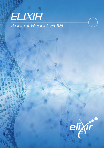 ELIXIR Annual Report cover page