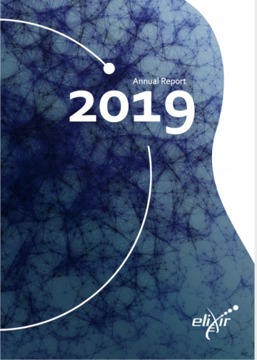 ELIXIR Annual Report 2019 - cover page