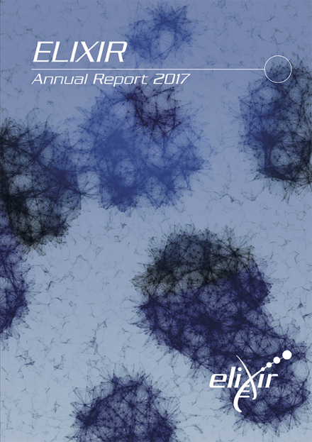 ELIXIR Annual report - cover