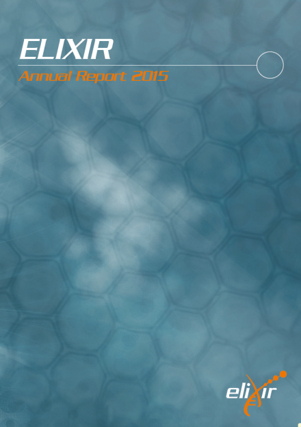 ELIXIR Annual report cover