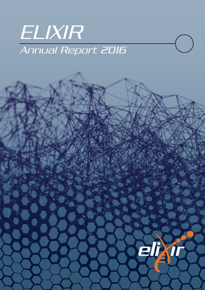 ELIXIR Annual report 2016 cover page