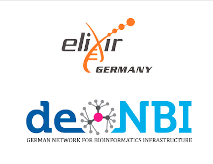 de.NBI and ELIXIR Germany logos