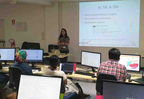 bioinformatics workshop - photo from the class