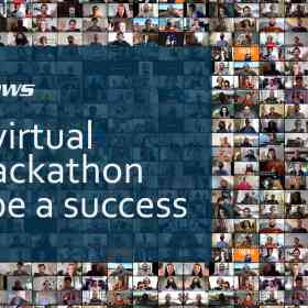 ELIXIR news banner | First virtual BioHackathon Europe a success